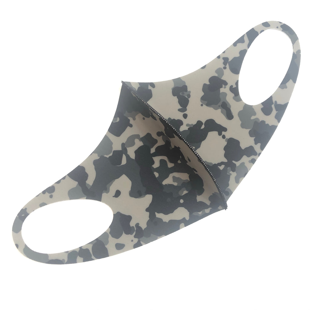 Noellery Strong Adult Unisex Green Camo Reusable Face Mask