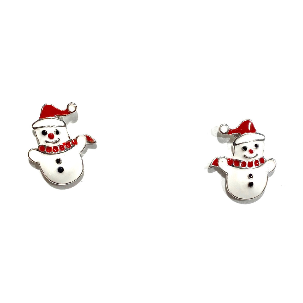Holiday Studs Snowman