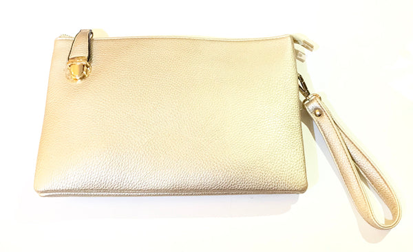 Michelle Buckle Crossbody Clutch