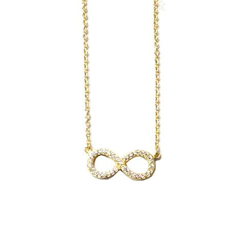 Infinity Bling Necklace