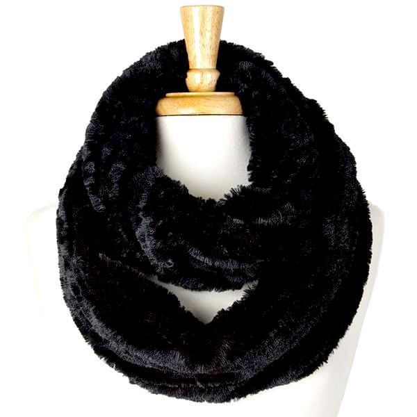 Brittany Faux Fur Infinity Scarf