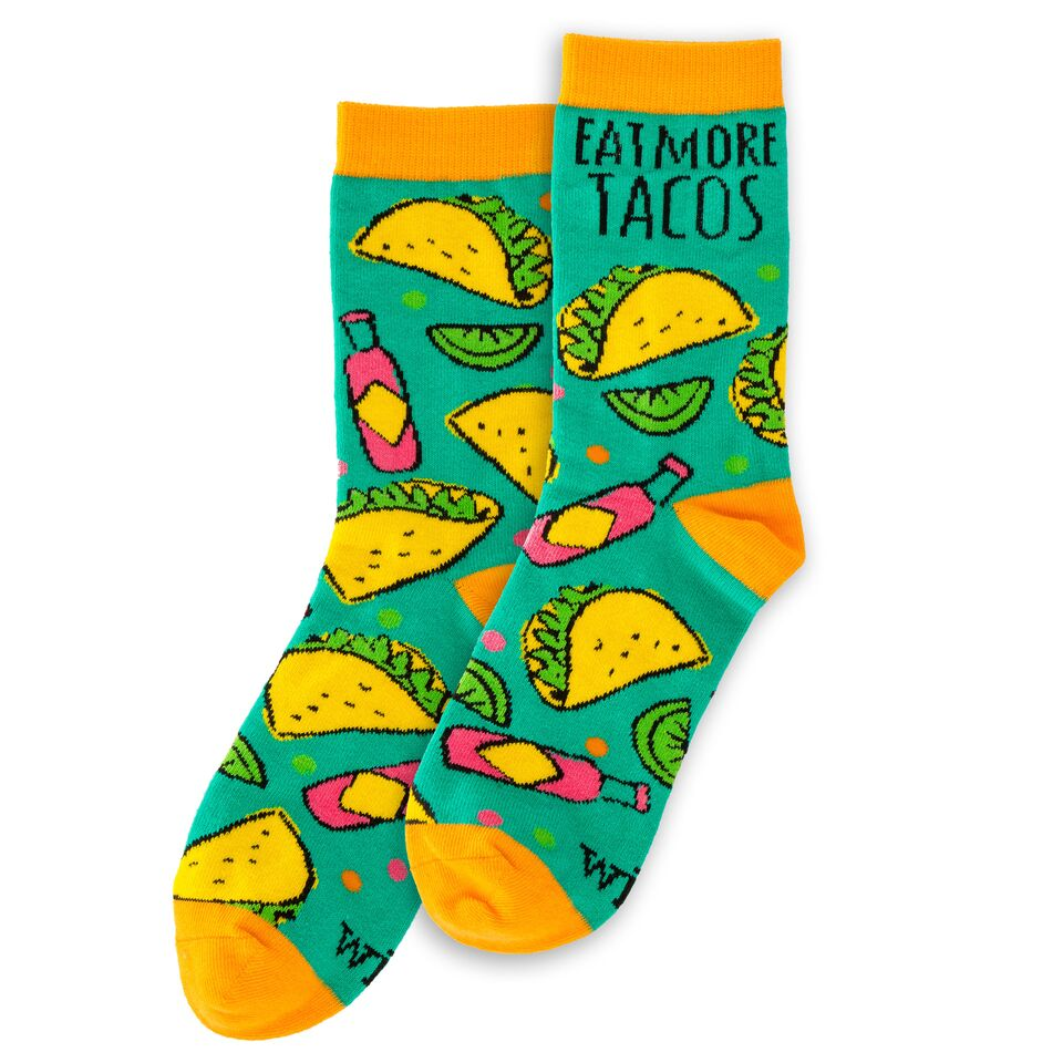 Socks - Eat More Tacos