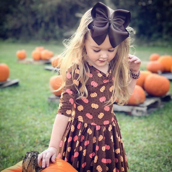 Fall Harvest Set with FREE Mustard Bow