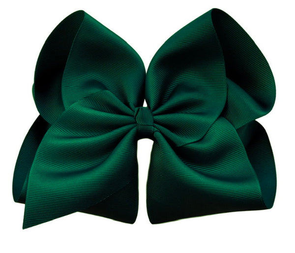 Evergreen Hair Bow