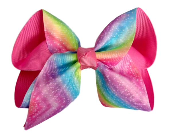 Unicorn Breeze Layered Bow