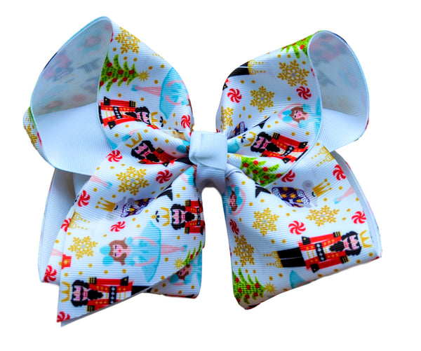 Nutcracker Layered Bow