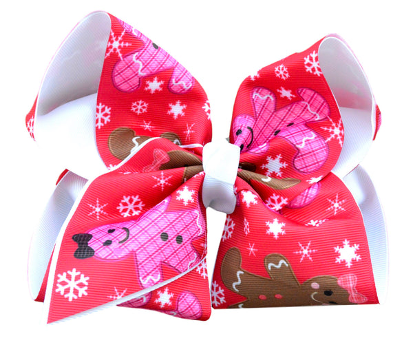 Gingerbread Layered Bow