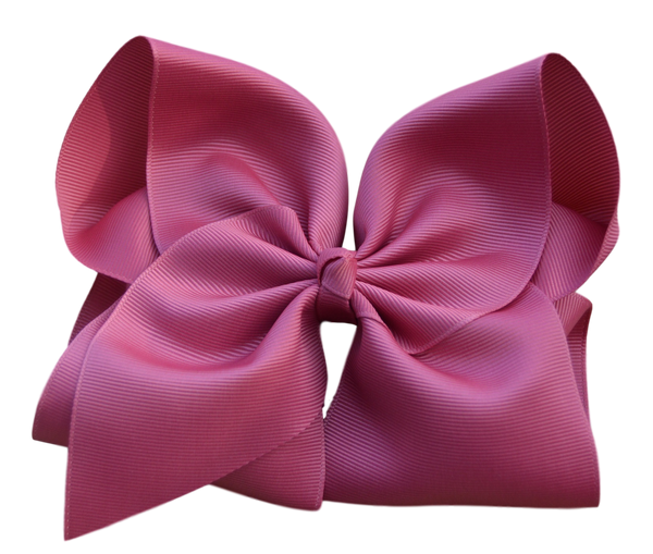 Rosewood Hair Bow