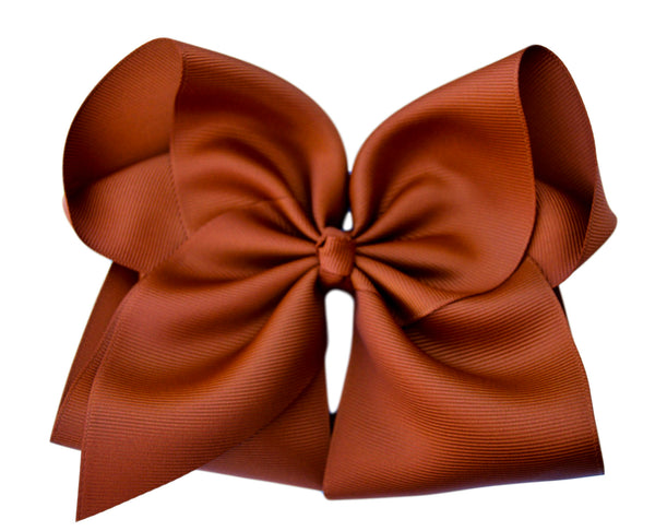 Copper Hair Bow