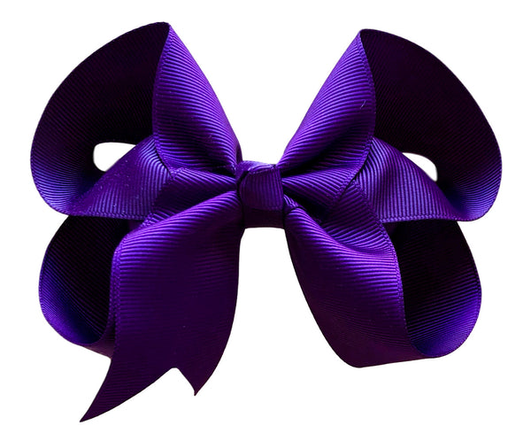 4 inch Solid Color Boutique Hair Bows