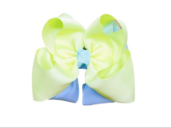 Limeade Bloom Bow