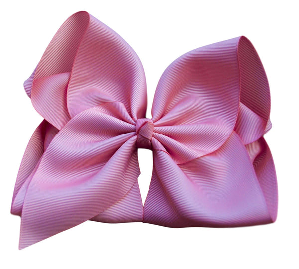 Pink Spice Hair Bow