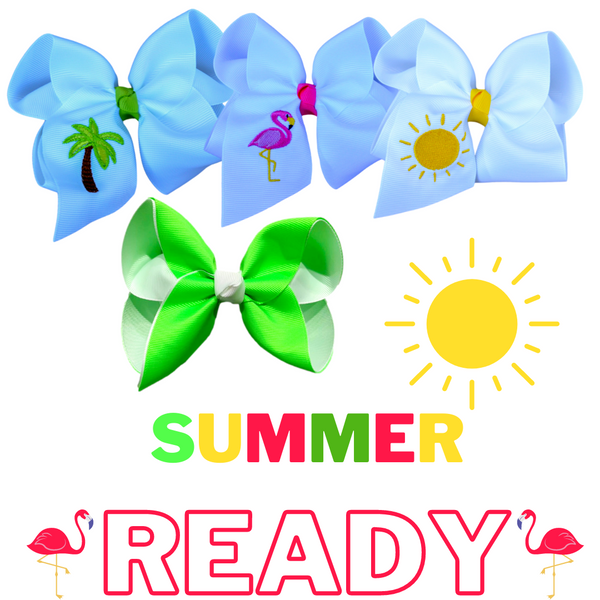 Summer Ready Bow Set