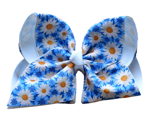 Daisy Layered Bow