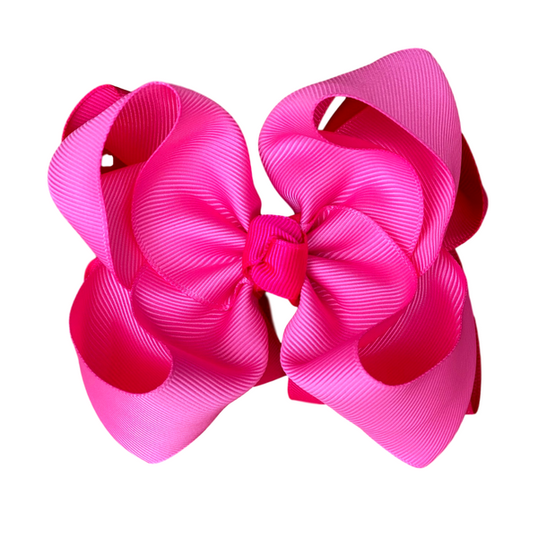 Pretty in Pink Double Bow