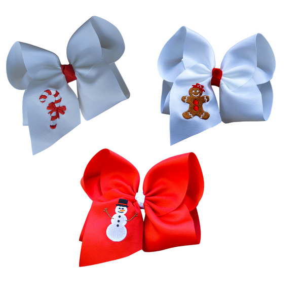 Merry Christmas Trio Embroidered Set