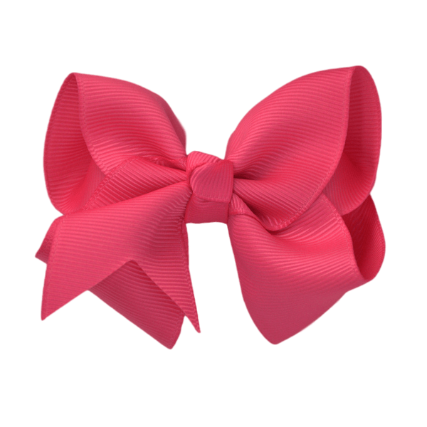 3 inch solid color hair bows the solid bow