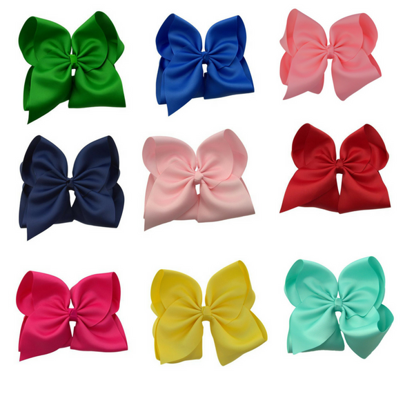6 inch School Days Hair Bow Set Plus FREE White Bow