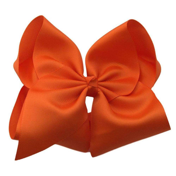 6 inch Solid Color Hair Bows