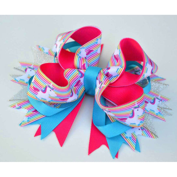 Unicorn Fun Boutique Bow
