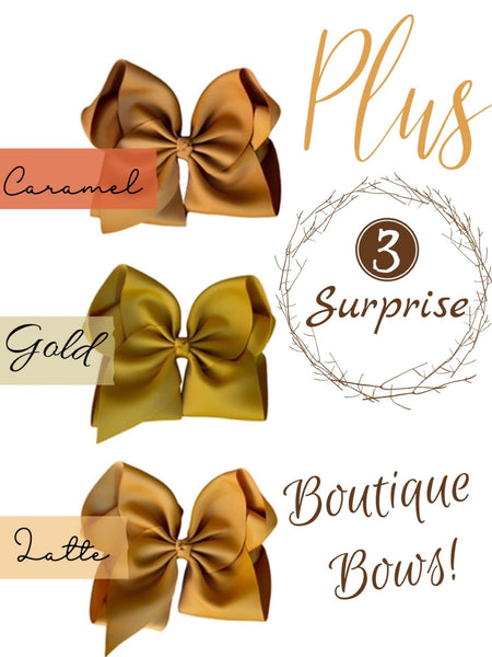 Cappuccino Set Plus 3 Specialty Bows