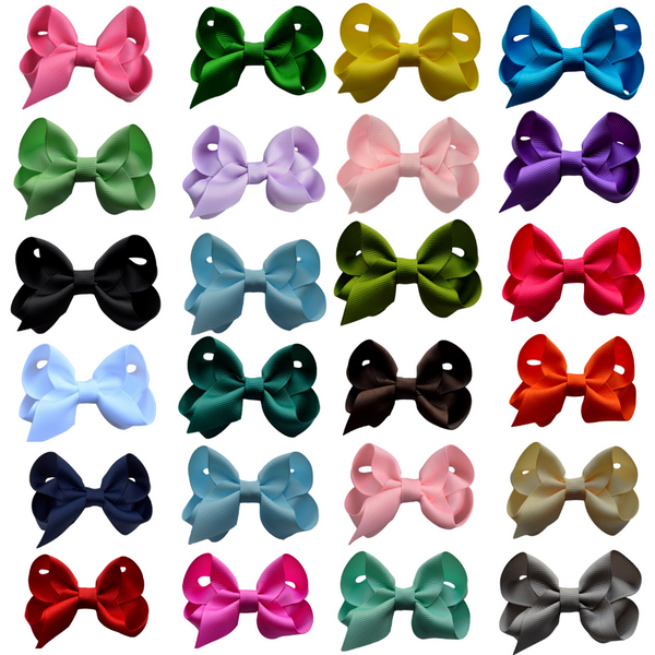 "2.5"" Solid Bow Set"