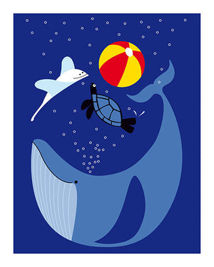 Julien Chung - Art print - Whale of a Time - Sur ton mur - 1