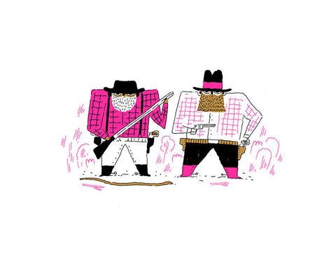 Patrick Doyon - Art print - The Sisters Brothers - Sur ton mur - 1
