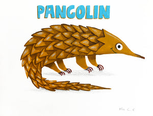 *** Original *** Pangolin
