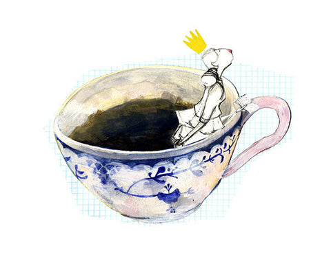 Suana Verelst - Art print - Princess in the Teacup - Sur ton mur - 1