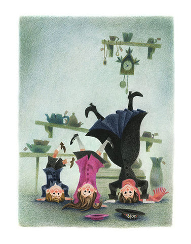 Geneviève Godbout - Art print - Mary Poppins Comes Back - Sur ton mur - 1