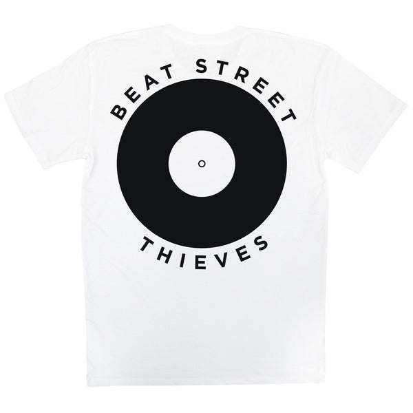 Skate Wear - White Beat Street Thieves Back
