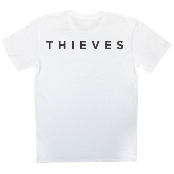 White Skate Wear Thieves Tee