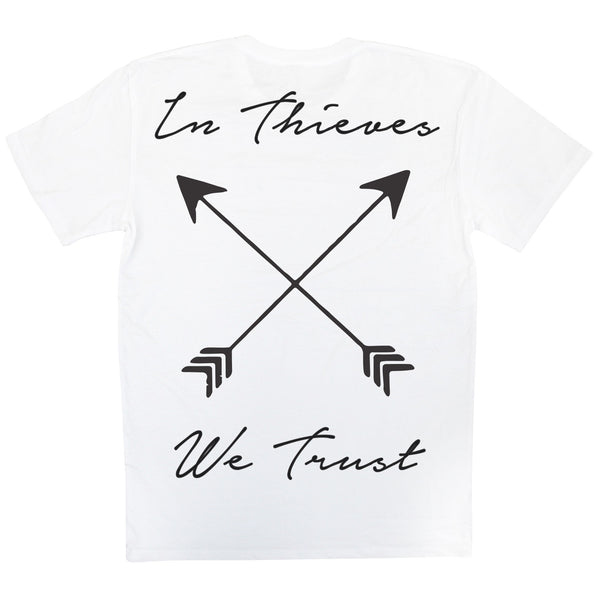 In Thieves We Trust - White - Back - Streetwear