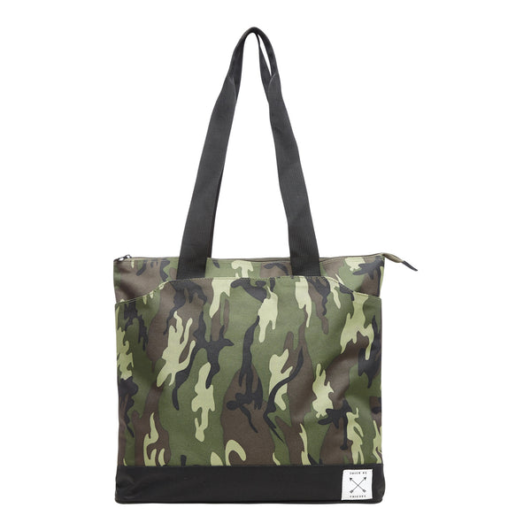 5.2 Camo Print Thieves Tote Bag