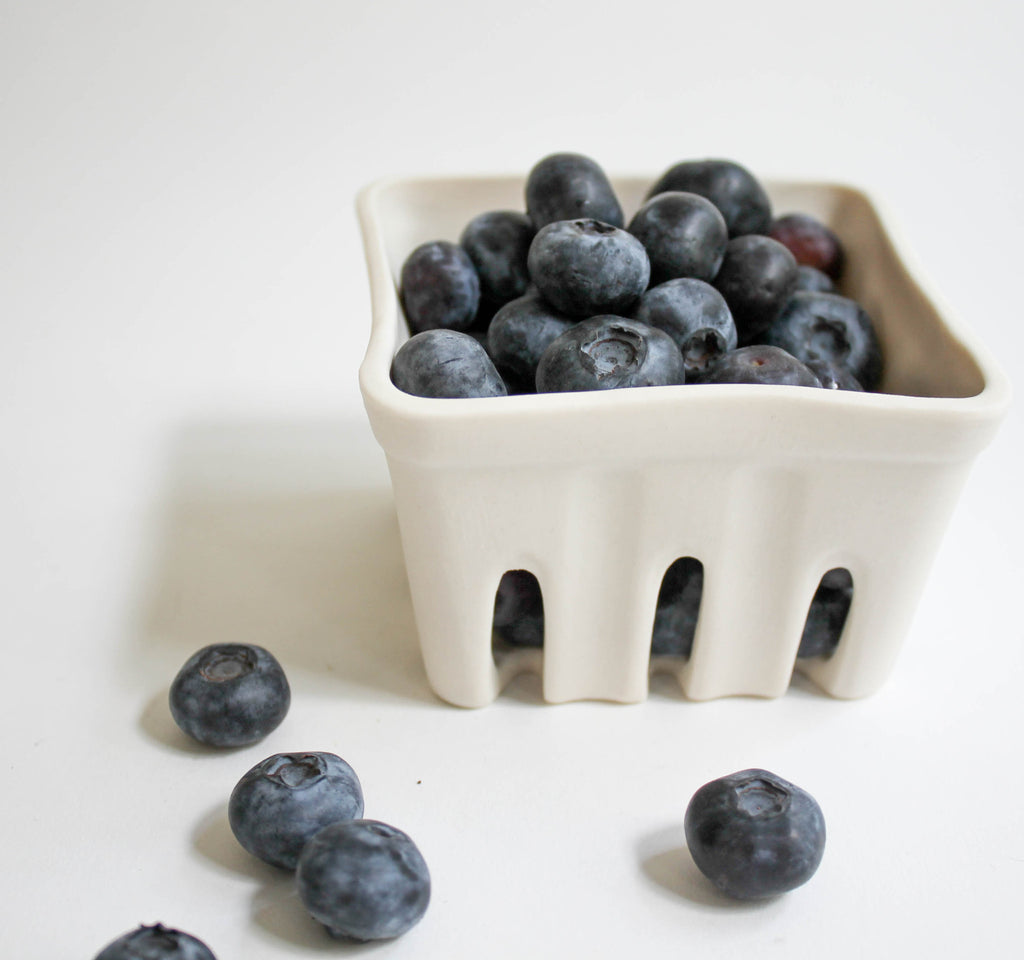 Ceramic Berry Basket Small, berry baskets - Revisions Design Studio, orchard + olive  - 3