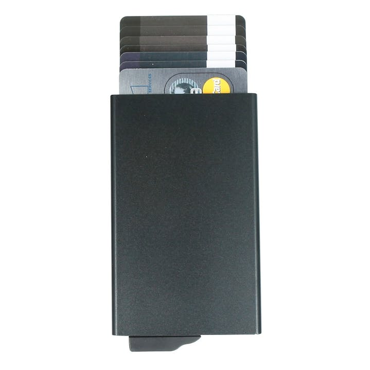 Valenta - Card Holder Aluminium Plus Black