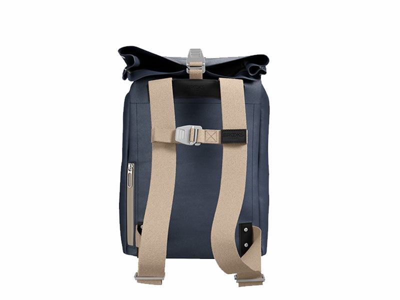 Brooks England - Pickwick Cotton Canvas Backpack Blue