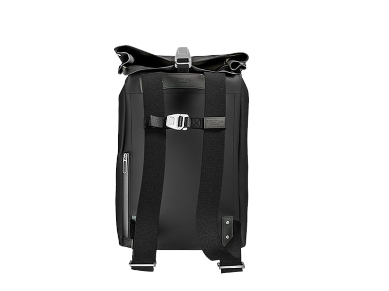 Brooks England - Pickwick Coated Remade Backpack Black