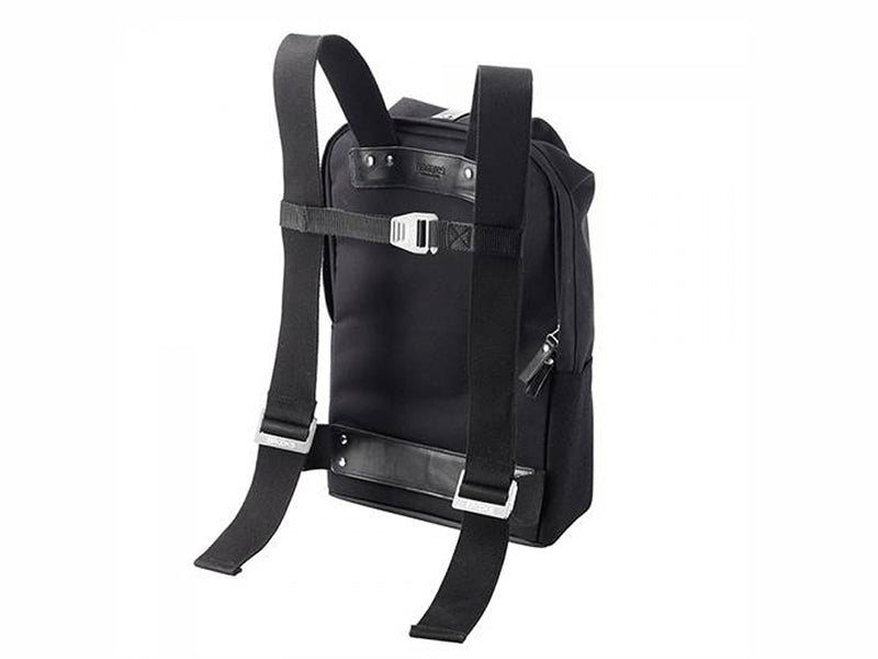 Brooks England - Dalston Knapsack Black Small