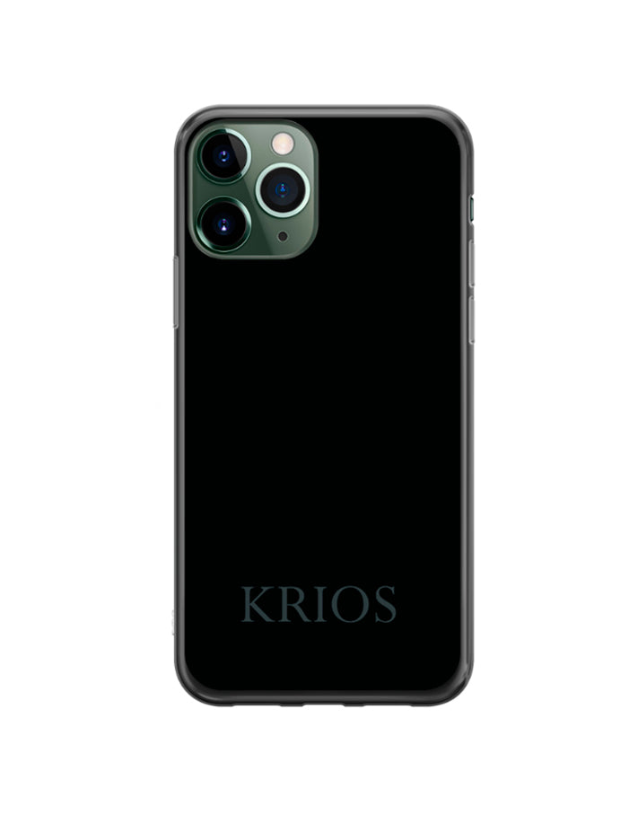 KRIOS - Black Phone Case