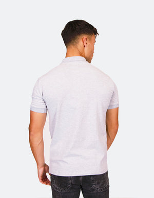 KRIOSWEAR Grey polo back