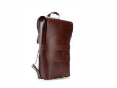 Brooks England - Piccadilly Leather Knapsack Antique Brown