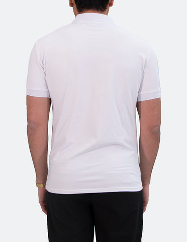 KRIOS - Short Sleeve White Polo shirt