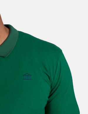KRIOSWEAR closeup Green Long sleeve Polo shirt