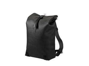 Brooks England - Pickwick Cotton Canvas Backpack Small Black