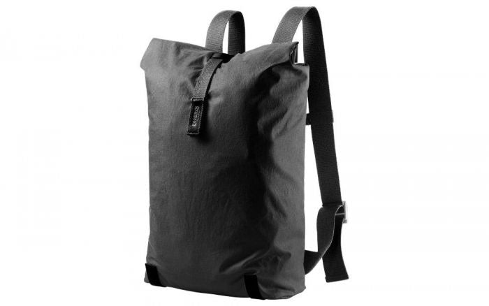 Brooks England - Pickwick Linen Backpack Black