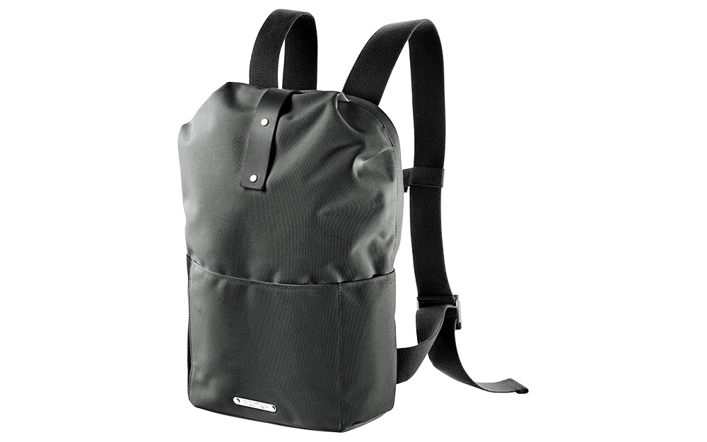 Brooks England - Dalston Knapsack Grey Fleck / Black Medium