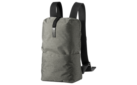 Brooks England - Dalston Tex Nylon Backpack Grey