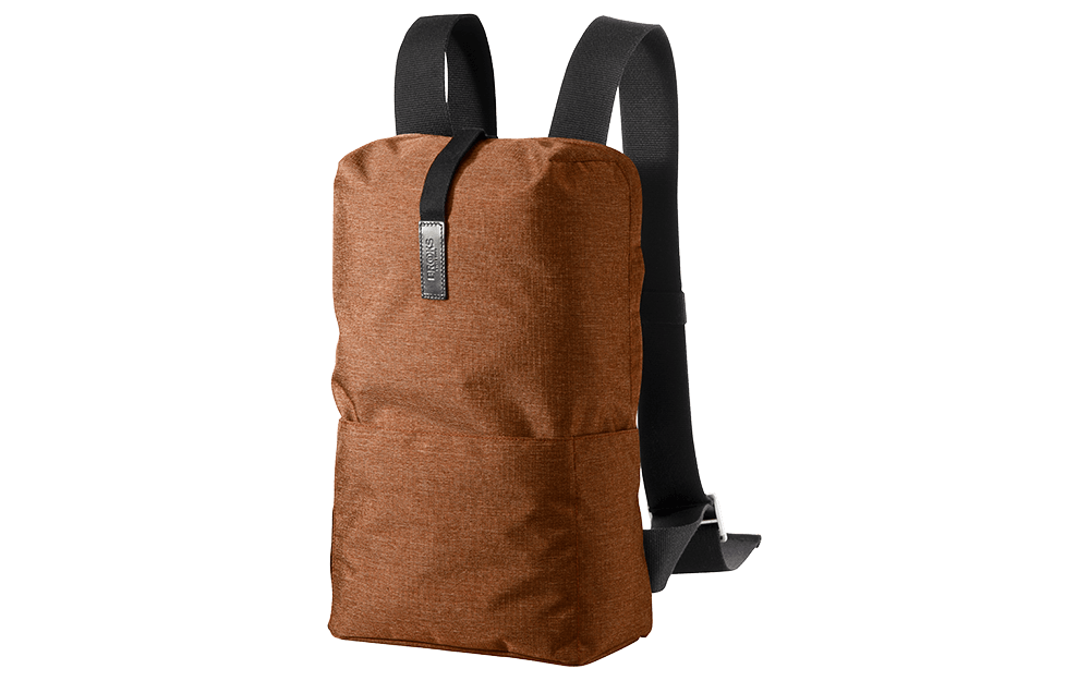 Brooks England - Dalston Tex Nylon Backpack Orange